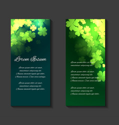 Leaflets flyers brochure template vector