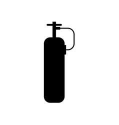 Oxygen tank icon vector