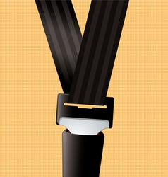 safety seat belt vector image