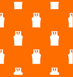 Sleeveless shirt pattern seamless vector