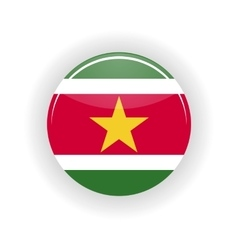 Surinam icon circle vector