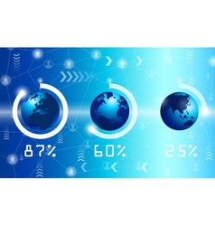 technology and science vector image