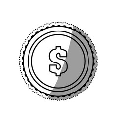 money and cash vector image vector image