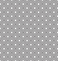 diamonds shape pattern vector image vector image
