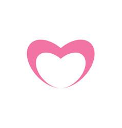 love logo vector image