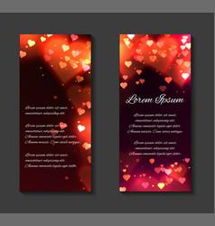 festive leaflets flyers brochure template vector image