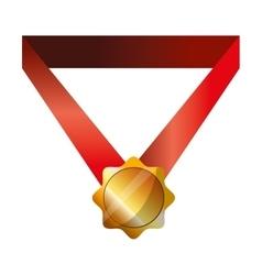 Winner gold medal vector