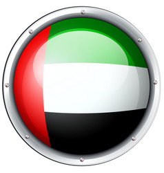 badge design for arab emirates vector image