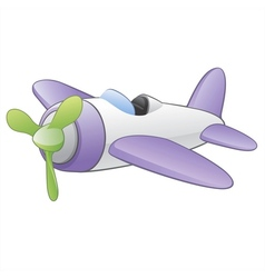 Cartoon airplane vector