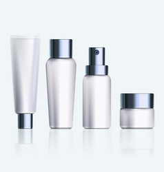cosmetic products vector image