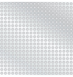Metal background with holes vector
