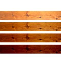 Oak boards vector