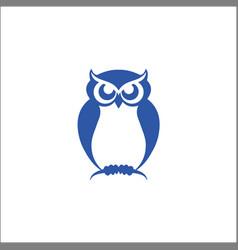 owl bird logo designs vector image