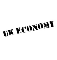 Uk economy rubber stamp vector