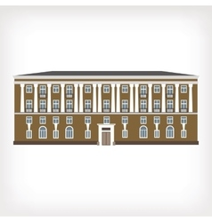 Vintage historical building vector