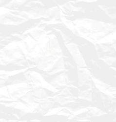 Crumpled paper background vector image
