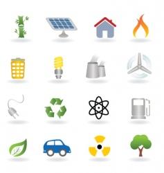 ecofriendly icon vector image