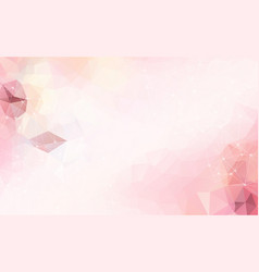 abstract space pink white background chaotically vector image