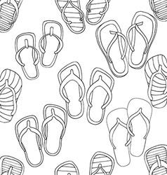 Flip Flop Patterned Background vector