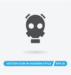 gas mask icon simple car sign vector image