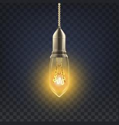 light bulb abstract interior light bulb vector image