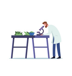 Male doctor pharmacist research properties vector