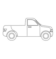 Pickup icon image vector