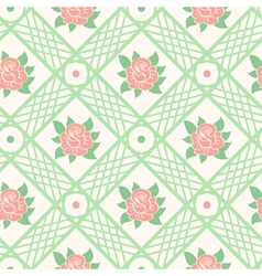 Seamless pattern vector image vector image