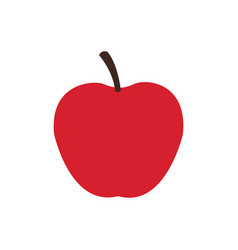 Apple fruit food delicious fresh vector