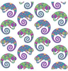Chameleons vector image