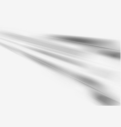 Grey smooth stripes abstract background vector