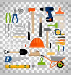 House repair construction or working tools vector