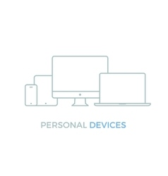 Personal Electronic Devices vector