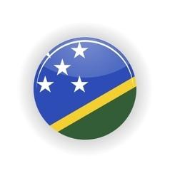 Solomon islands icon circle vector