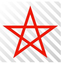 star pentagram eps icon vector image