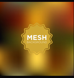 warm olive mesh background vector image