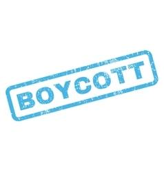 Boycott Rubber Stamp vector