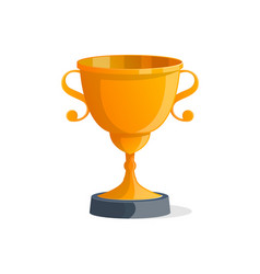 champion award cup isolated icon vector image