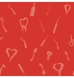 Dental pattern vector
