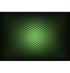 Hexagon background green vector