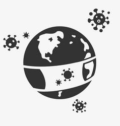 Planet attacks virus vector