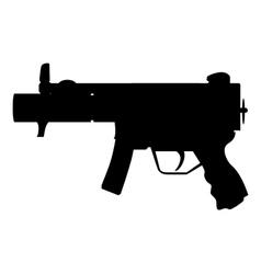 Military Uzi vector image vector image