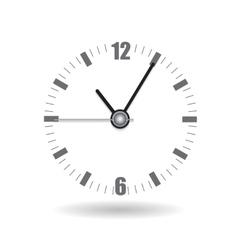 Realistic Clock Alarm Watch vector image vector image