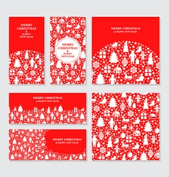 red set vector image vector image