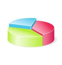 Circular diagram colorful vector image