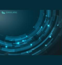 abstract gradient blue futuristic stripe curve vector image