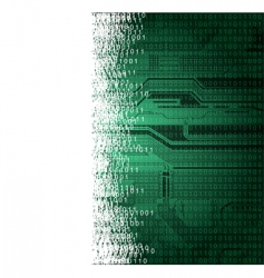 Abstract technology theme background with empty vector