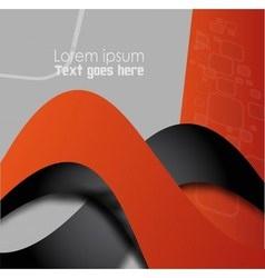 Background concept design for brochure or flyer a vector image