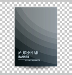business brochure flyer banner design template vector image