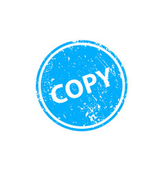Copy stamp texture rubber cliche imprint web or vector